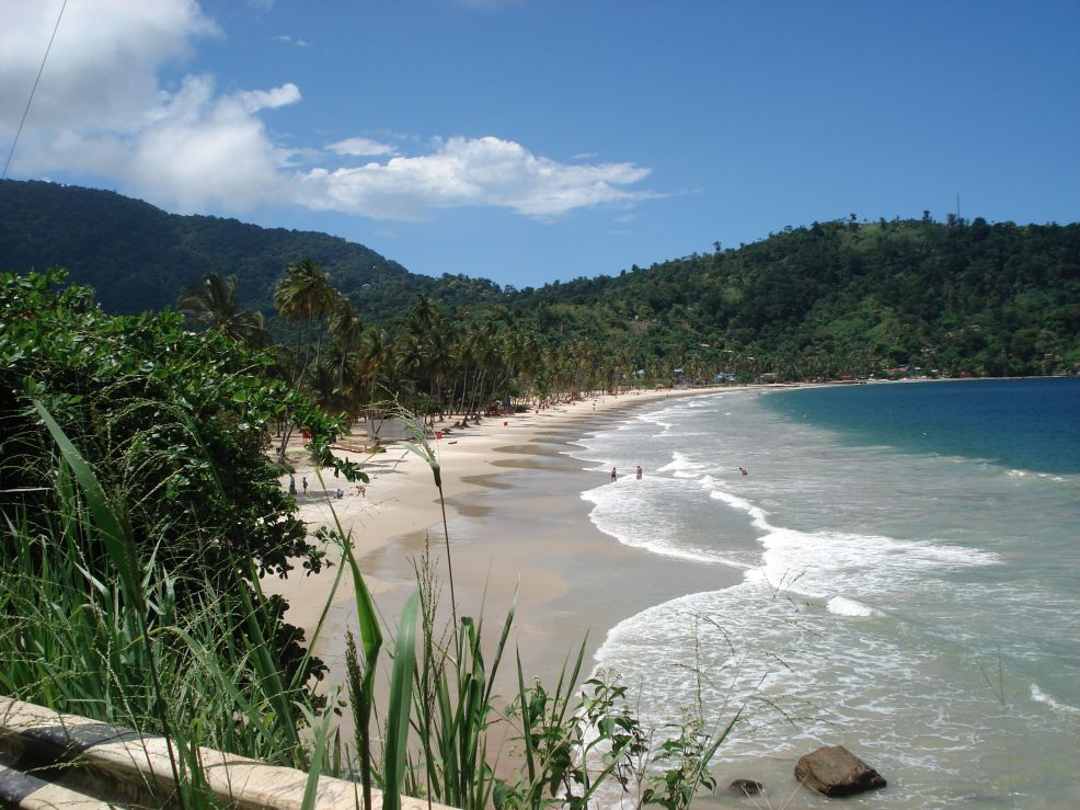 Maracas Bay Beach, Trinidad, October 2007