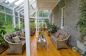 Hoscote House Sunroom, Hawick