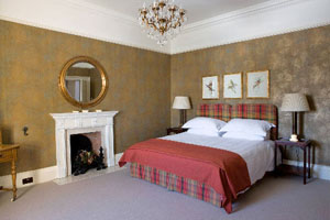 Hoscote House Bedroom, Hawick