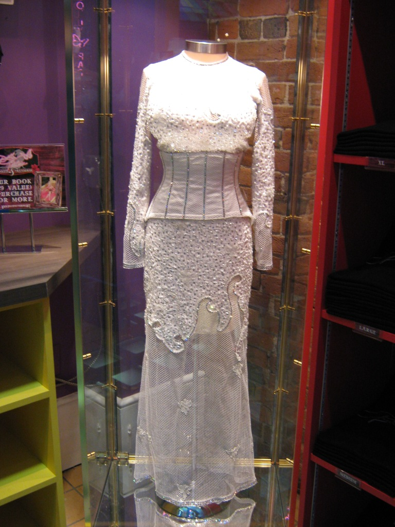 Dolly Parton White Dress
