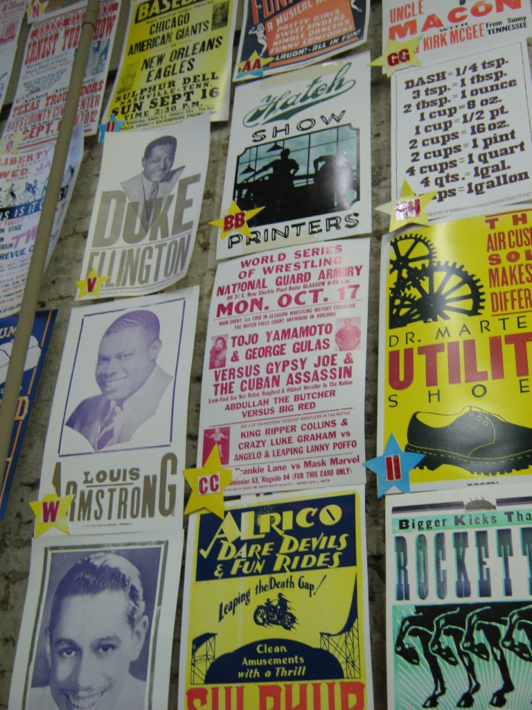 Hatch Show Print Gig Posters