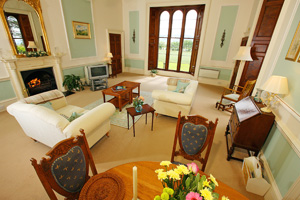 Tay View Living Room, Pitfour Castle